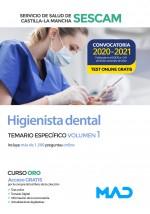 Higienista Dental del Servicio de Salud de Castilla-La Mancha (SESCAM)