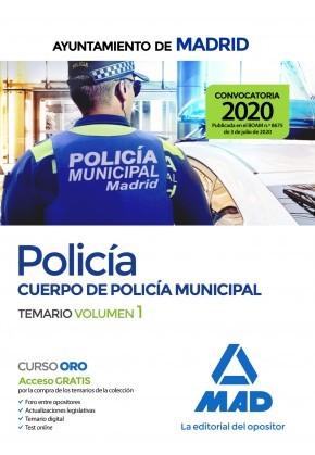 Policía del Cuerpo de Policía Municipal del Ayuntamiento de Madrid