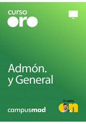 Curso Oro Cuerpo Auxiliar de la Administración de la Comunidad Autónoma de Aragón