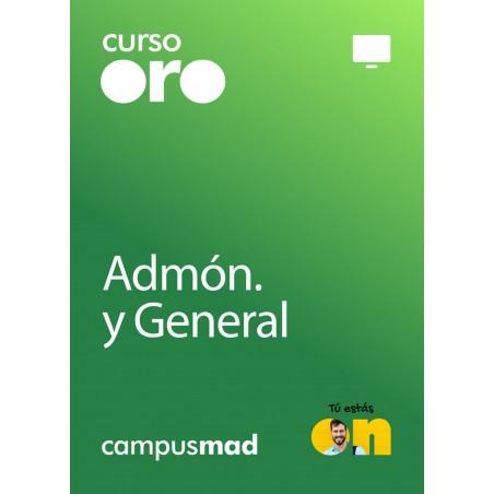 Curso Oro Escala Auxiliar Administrativa de la Universidad Autónoma de Madrid