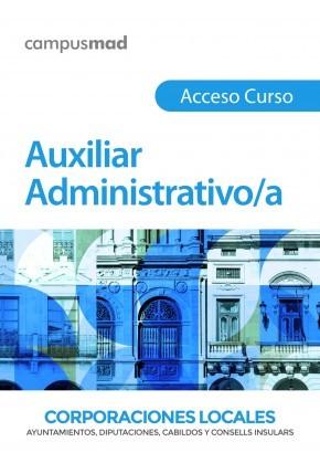 Acceso Curso Auxiliar Administrativo/a de Corporaciones Locales