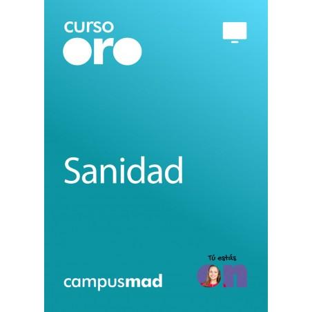 Curso Oro Auxiliar de Enfermería Instituciones Sanitarias de la Comunidad Autónoma de Cantabria