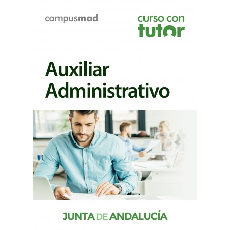 Curso con TUTOR Auxiliar Administrativo Junta de Andalucía