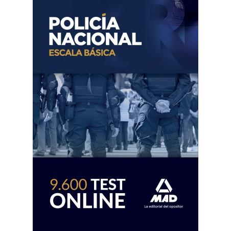 9600 Test online de la Escala Básica de la Policía Nacional