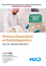 Técnico/a Especialista en Radiodiagnóstico