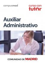Curso con TUTOR Auxiliar Administrativo Comunidad Autónoma de Madrid