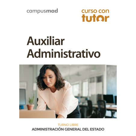 Curso con TUTOR Auxiliar Administrativo