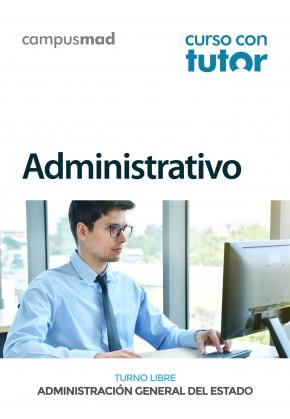 Curso con TUTOR Administrativo/a (acceso libre)