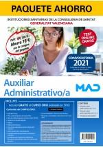 Paquete Ahorro Auxiliar Administrativo/a