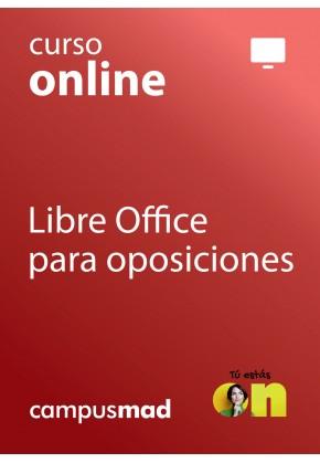 Curso online Libre Office para oposiciones