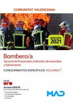 Bombero/a del Servicio de Prevención, Extinción de Incendios y Salvamento