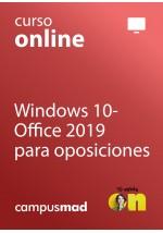 Curso de Windows 10-Office 2019 para oposiciones