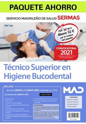Paquete Ahorro Técnico Superior en Higiene Bucodental