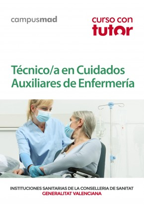 Curso con TUTOR Técnico/a en Cuidados Auxiliares de Enfermería
