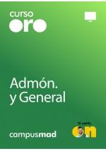 Curso Oro Cuerpo Auxiliar de la Administración de la Comunidad Autónoma de Castilla y León