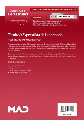 Técnico/a Especialista de Laboratorio