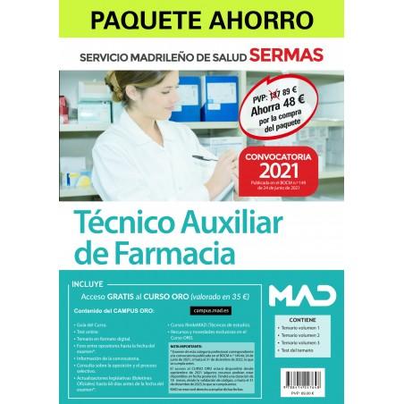 Paquete Ahorro Técnico Auxiliar de Farmacia