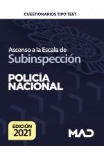Ascenso a la Escala de Subinspección de la Policía Nacional