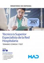 Técnico/a Superior Especialista de la Red Hospitalaria