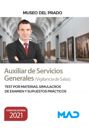 Auxiliar de Servicios Generales (Vigilancia de Salas)