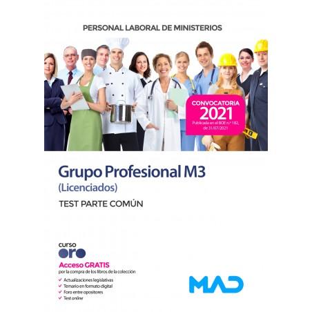 Personal Laboral Grupo Profesional M3 (Licenciados)