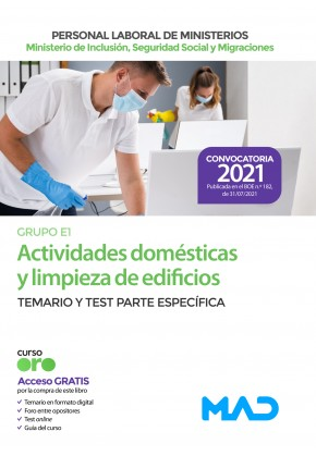 Actividades domésticas y limpieza de edificios (Grupo Profesional E1)