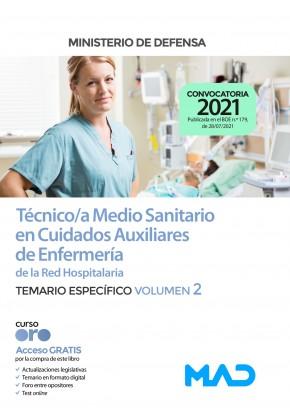 Técnico/a Medio Sanitario en Cuidados Auxiliares de Enfermería de la Red Hospitalaria