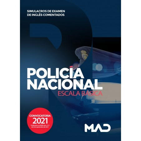 Escala Básica de Policía Nacional