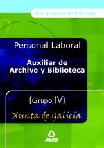 Auxiliares de Archivo y...
