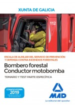 Bombero Forestal-Conductor...