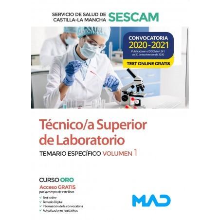 Técnico/a Superior de Laboratorio del Servicio de Salud de Castilla-La Mancha (SESCAM)