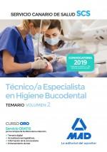 Técnico/a Especialista en Higiene Bucodental del Servicio Canario de Salud