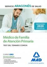 Médico de Familia de Atención Primaria del Servicio Aragonés de Salud (SALUD-Aragón)