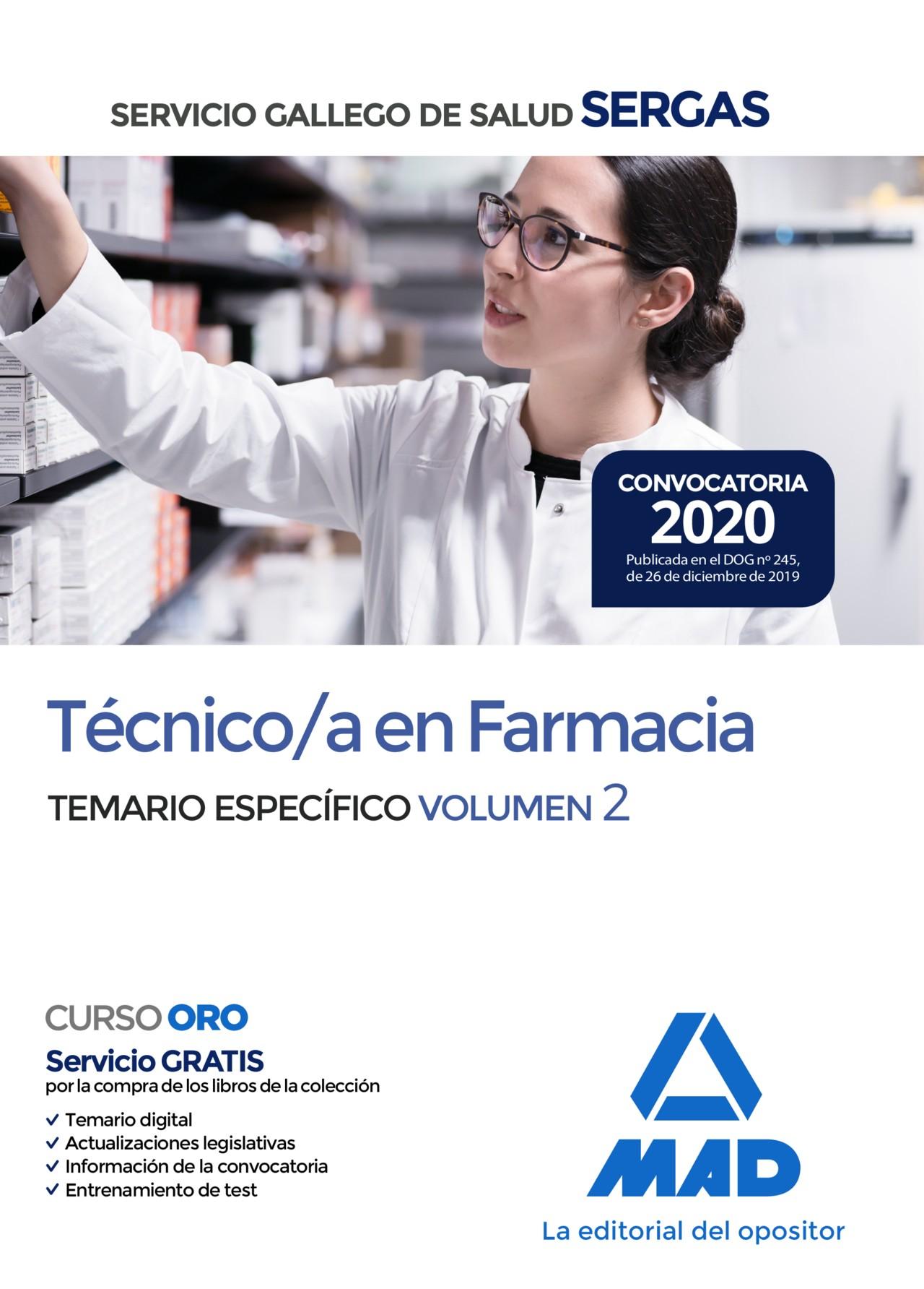 Técnico/a en Farmacia del Servicio Gallego de Salud