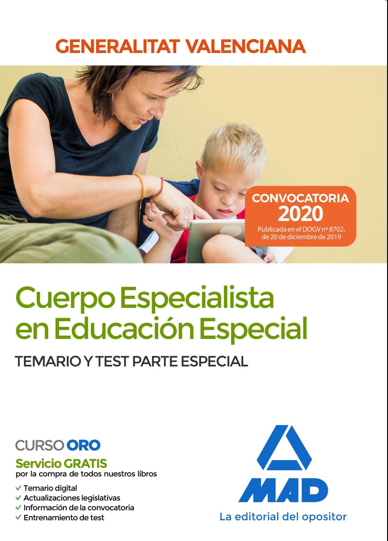 Cuerpo Especialista en Educación Especial de la Administración de la Generalitat Valenciana