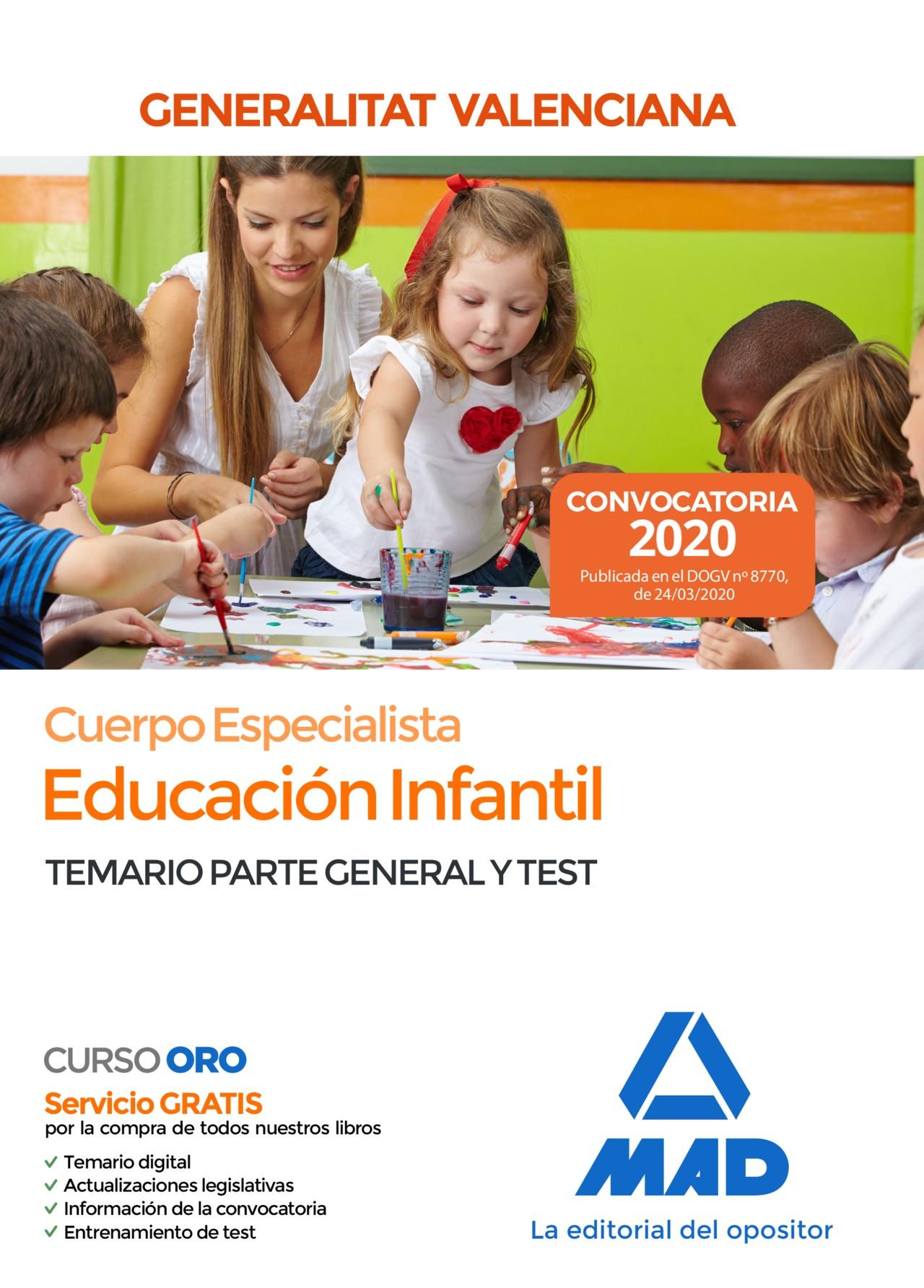 Cuerpo Especialista en Educación Infantil de la Administración de la Generalitat Valenciana