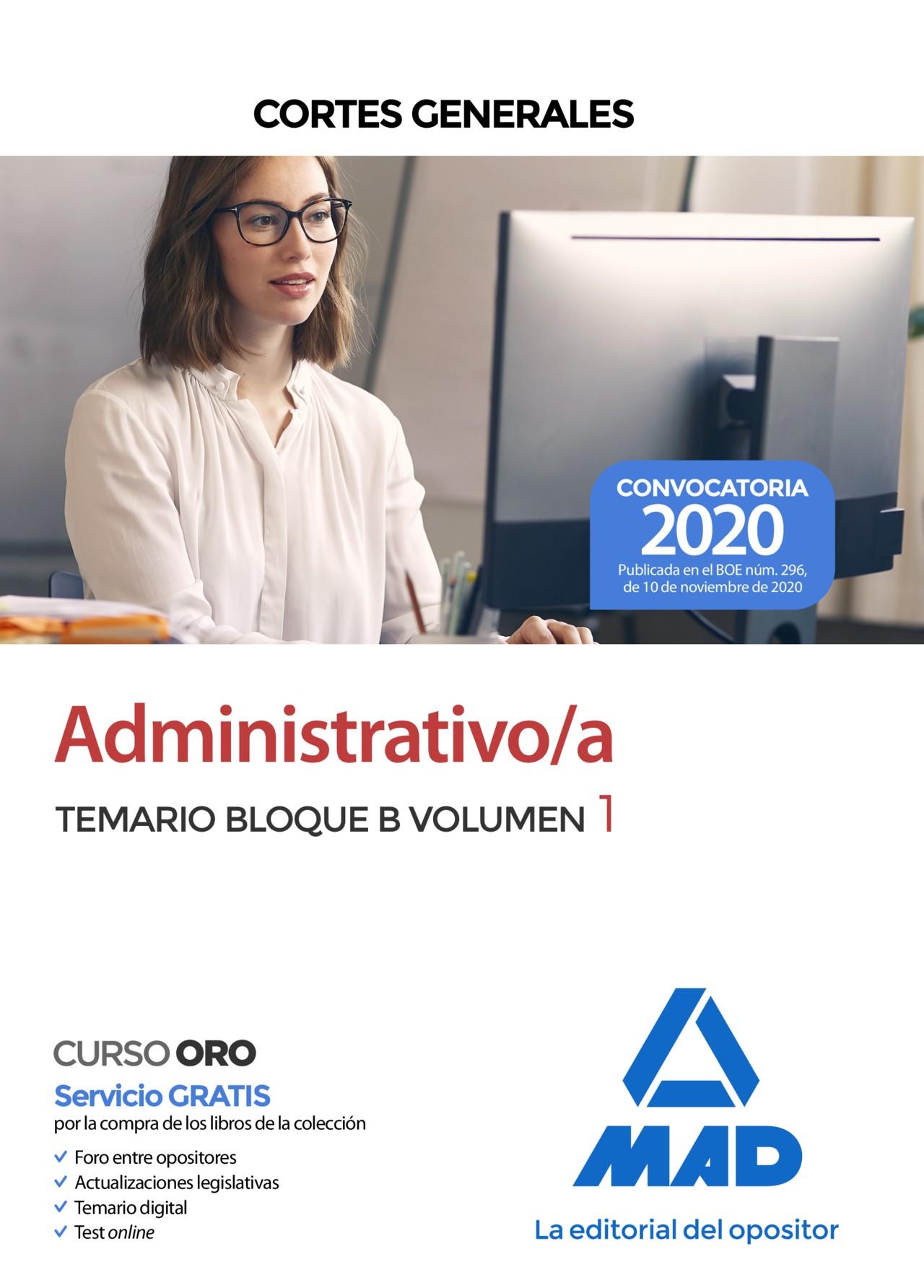 Administrativo de las Cortes Generales